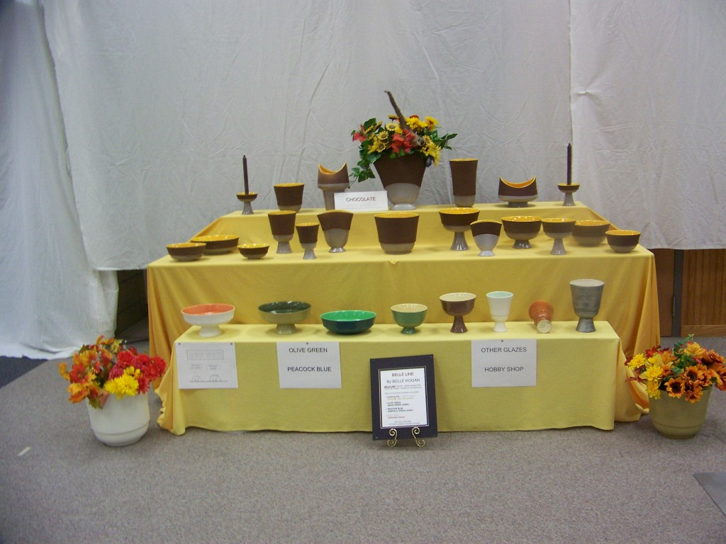 Art Pottery Display
