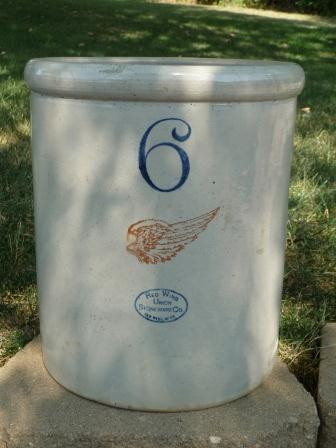 6gal Red Wing Crock