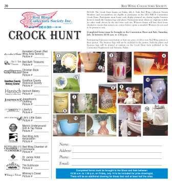 CON12 Crock Hunt form - image - web