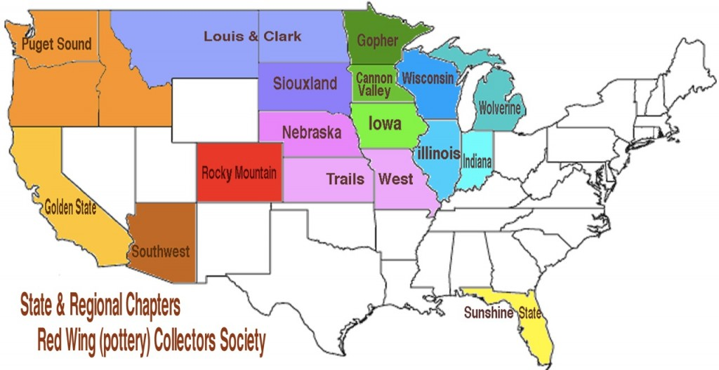 RWCS Chapter Map 2012