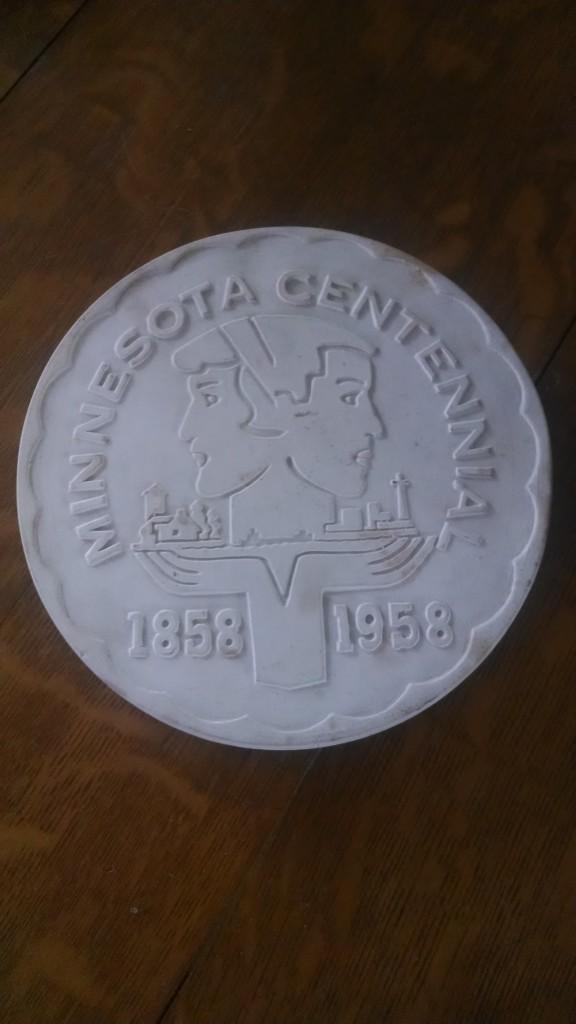 bisque centennial trivet