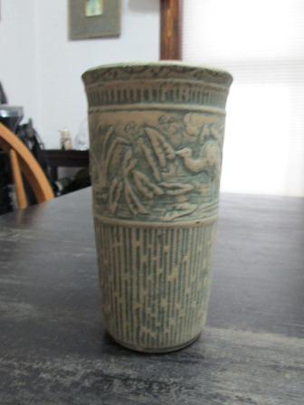 brushware crane vase