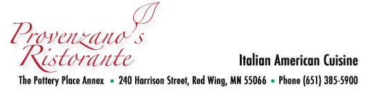 provenzano's logo